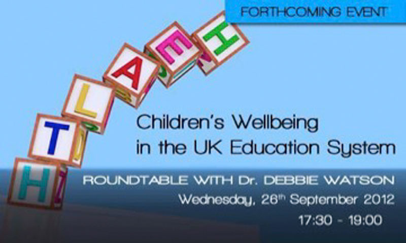 Children's Wellbeing in the UK Education System