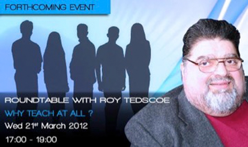 Round-table talk with Roy Tedscoe