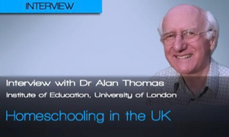 poster of a man with writing saying that it's Dr Alan Thomas